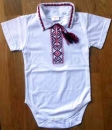 CX074_02 Embroidered Baby Body for Boys Size 74
