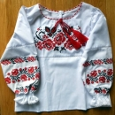 CD104_01 Ukrainian embroidered blouse Size 104