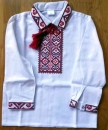 CX098_01 Ukrainian embroidered Boy's Shirt Size 98